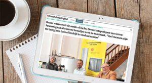 Green sources over stille warmtepompen in het Noordhollands Dagblad